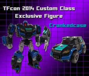 Transformers News: TFcon Toronto 2014 Customizing Class figure revealed: Crankedcase