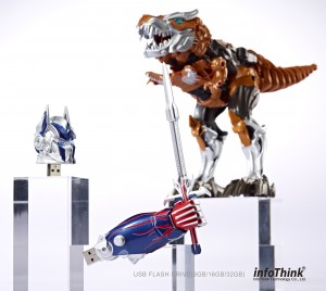 Transformers News: Transformers: Age of Extinction Memory Storage Products from InfoThink
