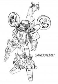 Transformers News: Hasbro Generations IDW Sandstorm Nick Roche Concept Art