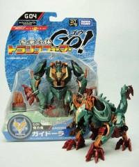 Takara Transformers Go! G-04 Gaidora Video Review