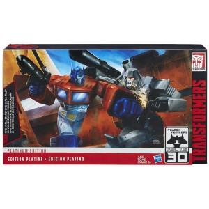 Transformers Generations Platinum Edition One Shall Stand, One Shall Fall Set Available on Amazon