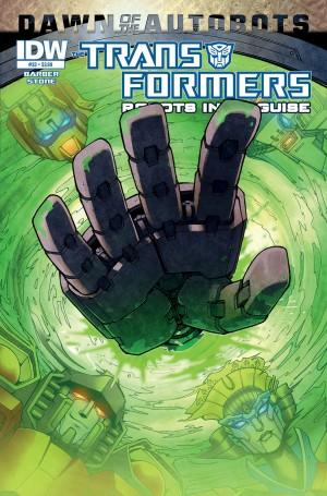 IDW Transformers September 2014 Comics Solicitations: Primacy, TFvsG.I. Joe, Phase One - Spoilers