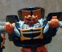 Transformers DOTM Deluxe Mudflap Robot Images