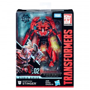 Transformers Studio Series 02 Deluxe Class Stinger Video Review