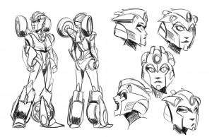 """Transformers Team Talks """"Windblade,"""" New Female Characters - Interview with Scott and Howell"""