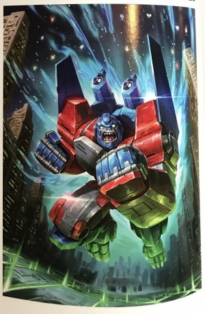 Transformers News: Transformers Power of the Primes Primal Prime Artwork Found in 'Transformers - A Visual History'