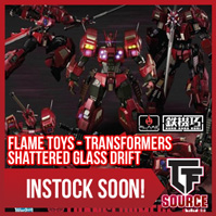TFSource News - MT Buster Skywing, Flame Toys Shattered Glass Drift, IF Mirrored Commander & More!