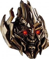 Transformers News: 2012 Transformers Christmas Ornaments: Movie Megatron and Bumblebee