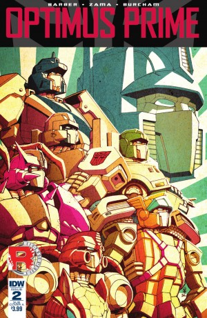 Full Preview of IDW Optimus Prime #2