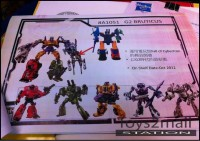 Transformers Generations Fall of Cybertron G2 Bruticus