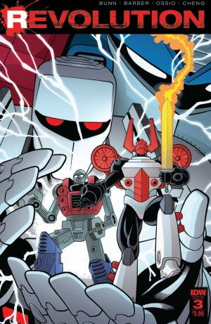 Transformers News: Full Preview of IDW Revolution #3 (of 5)