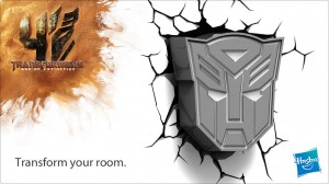 Autobot and Decepticon Wall 3D Deco Lights by 3DLight FX