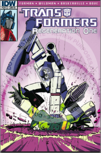 Transformers News: IDW's REGENERATION 84 Reviewed - 'What About Starscream?'