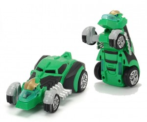 Transformers News: Images of Dickie Toys Transformers: Robots in Disguise R / C Grimlock and Bumblebee