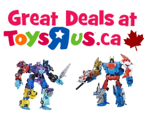 Transformers News: Transformers Platinum Edition and Combiner Wars G2 Sets On Sale At ToysRus Online And In Store