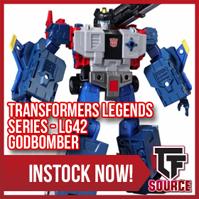 TFsource Weekend Update! Masterpiece MP-37, LG-42 Godbomber, KFC Kingzilla, MP-12 Sideswipe & More!