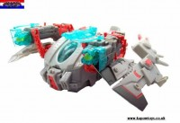 Transformers Prime Cyberverse Star Hammer with Wheeljack In-Hand Images