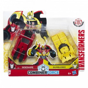 Robots in Disguise Combiner Force Crash Combiners Found at Retail