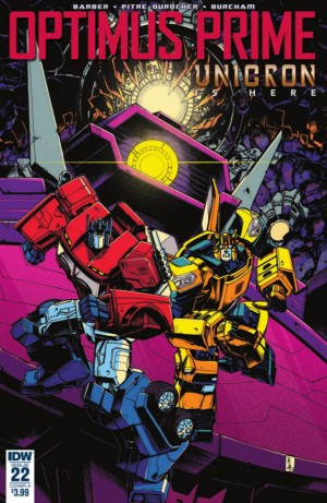 Transformers News: Full Preview for IDW Transformers Optimus Prime #22