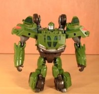 Transformers News: Transformers Prime Cyberverse Commander Bulkhead Review