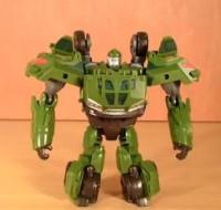 Transformers News: Transformers Prime Cyberverse Commander Bulkhead Review
