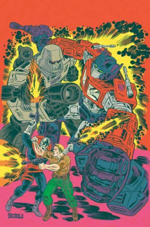 Transformers News: Multiversity Comics Interviews Tom Scioli on Transformers / G.I. Joe