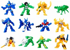 Transformers Robots in Disguise Wave 6 Tiny Titans Blind-Bagged Characters Revealed