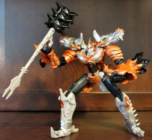 Transformers News: In-Hand Images: Transformers Age of Extinction Deluxes, Evasion Optimus Prime, Voyager Grimlock