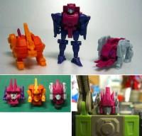 Transformers News: Wonderfest Exclusive 3rd Party Custom Headmasters