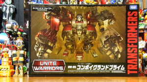 Transformers News: Transformers Unite Warriors UW-05 Convoy Grand Prime Stop Motion Video