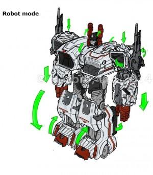 Transformers Generations Titan Metroplex Concept Art by Emiliano Santalucia
