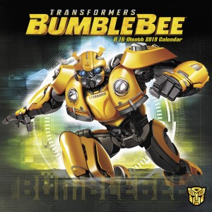 Round-Up of Transformers @BumblebeeMovie Products: Calendar, Decals, Toppers #JoinTheBuzz
