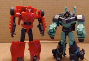 Video Review - Transformers Robots in Disguise Legion Wave 2: Grimlock and Sideswipe