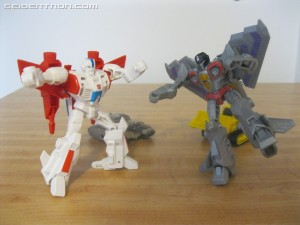 First Global Sighting and Review for Cyberverse Spark Armor Jetfire and Starscream