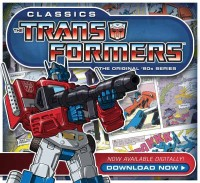 Transformers: The Original '80s Series Comics Now Available Digitally