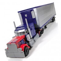 Transformers News: New DOTM Gallery: Takara's Voyager Optimus Prime with MechTech Trailer