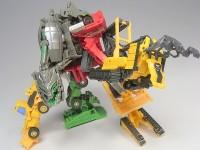 Transformers News: Extensive ROTF EZ Constructicons & Devastator Galleries