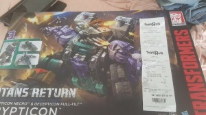 Transformers News: Transformers Titans Return Titan Class Trypticon Sighted at US Retail