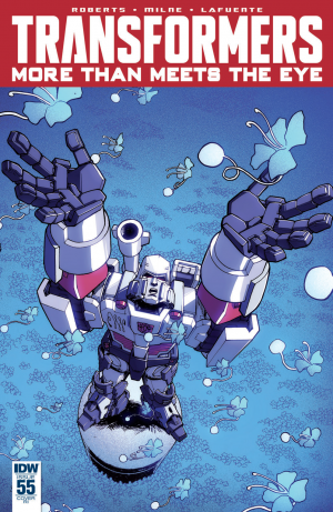 Transformers News: IDW Transformers: More Than Meets The Eye #55 Review