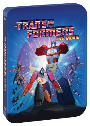 Limited Edition 30th Anniversary Blu-Ray Steelbook of Transformers: The Movie from Shout! Factory