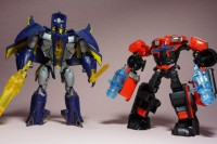 Transformers News: Additional Transformers Prime Cyberverse Commanders Dreadwing and Ironhide In-Hand Images