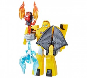 Transformers News: New Images and Listing for Transformers: Rescue Bots Knight Watch Bumblebee