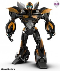Transformers News: Another Look at Bumblebee in His New Beast Hunters Deco