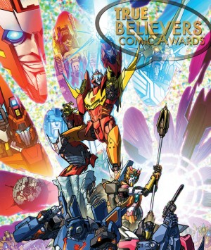 IDW, Transformers: More Than Meets the Eye, James Roberts Shortlisted in True Believers Comic Awards