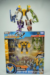 Transformers News: New Image of Takara Tomy Transformers Go! G09 Goradora