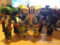 Transformers News: In-Hand Images: Transformers Generations Deluxe Bumblebee, Hoist, and Trailcutter