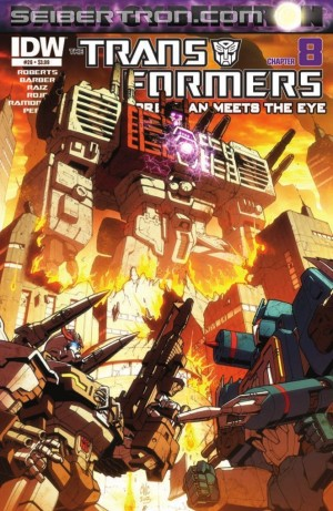 Transformers News: IDW Transformers: More Than Meets the Eye #26 (DC 8) Preview