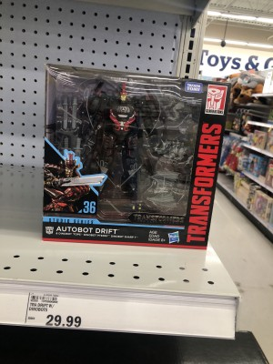 Studio Series News with In Store SS 36 Drift Sighting and New Bumblebee and Dino Listings