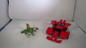 Transformers News: Video Review - Transformers Robots in Disguise Activators Sideswipe with Great Byte