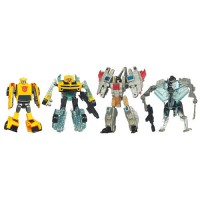 Toys'R'Us Scan Series Cyberverse Starscream and Bumblebee, Target Voyager Ratchet and Starscream Available